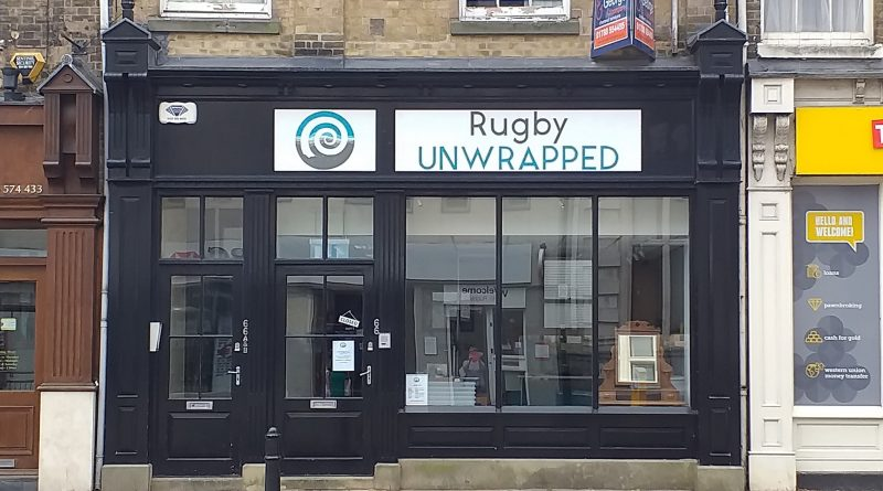 Rugby Unwrapped shop